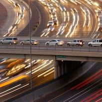 Traffic on Interstate 10 in Phoenix.