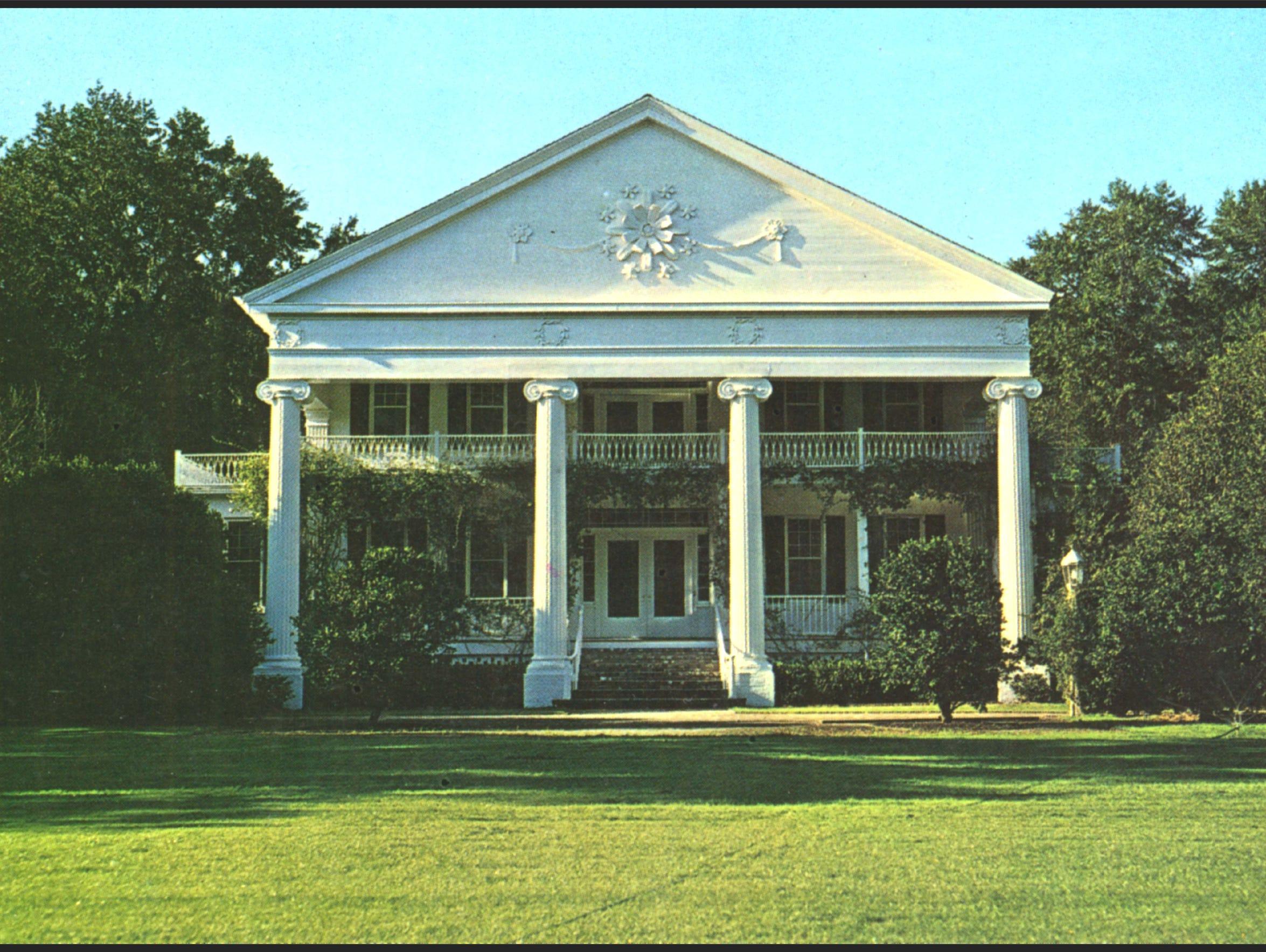 Greenwood Plantation's Main House.