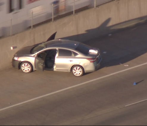 Police say an Uber driver shot and killed a passenger on I-25 in Denver on June 1.