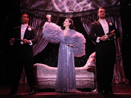 """Dita Von Teese, an icon of burlesque, is now on the road with her """"Art of the Teese"""" tour."""