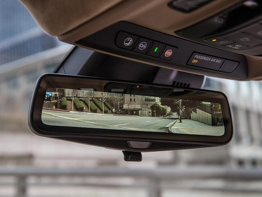 The rear camera mirror with streaming video could use some fine-tuning.