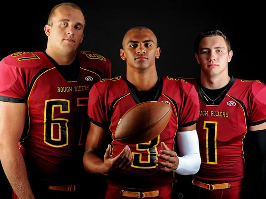Grant Schmidt, Taryn Christion and Chase Vinatieri all starred at Roosevelt before later becoming teammates at South Dakota State.