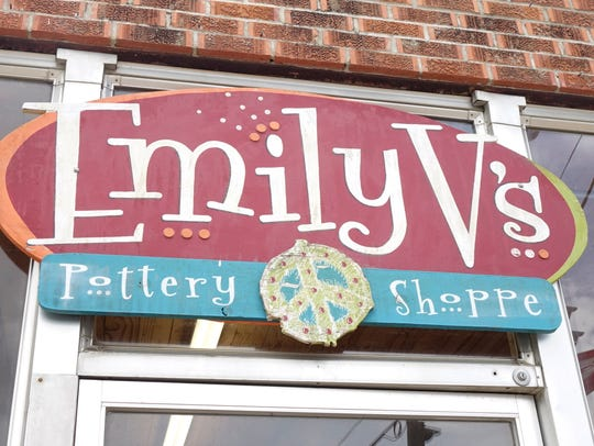 Emily V's Pottery Shoppe in Carencro Friday, August