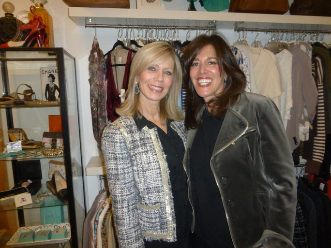Closet NV owners Robin Bloom (left) of Birmingham and