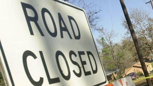 Hwy. 95 near Duson is shut down because of an 18-wheeler crash.