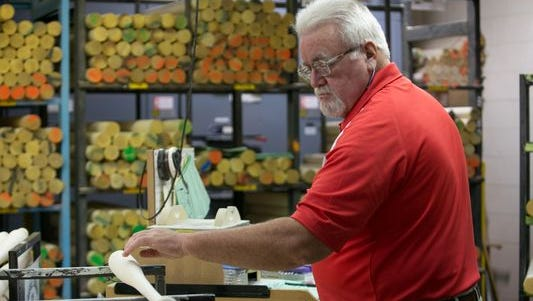 Danny Luckett, who had been making bats for Louisville Slugger since 1969, is retiring.