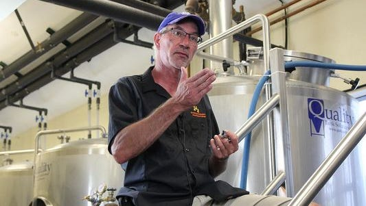 Tom Block, Of Block Brewing in Howell, will teach in the Schoolcraft program.