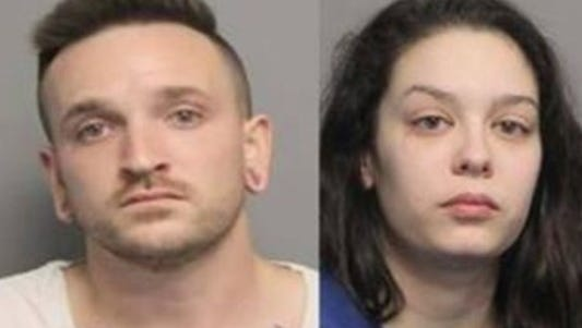 Anthony Kennedy and Rayna Fillios tried to rob an Uber driver in Louisiana Jan. 6.