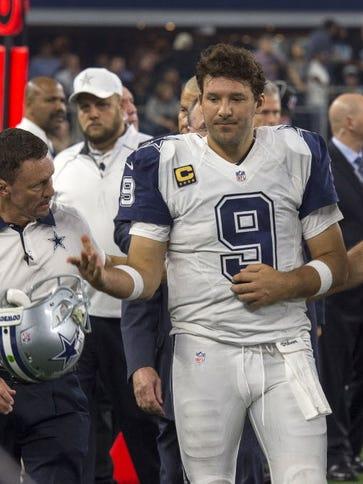 Cowboys QB Tony Romo.