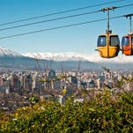 Santiago de Chile is a great South American capital to visit in January.