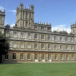 Highclere Castle serves is used as the exterior of Downton Abbey.