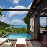 Hermitage Bay is home to one of the Caribbean's best resort suites.