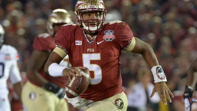 Jameis Winston and defending national champion Florida State begin the chase for a spot in the inaugural College Football Playoff on Aug. 30 when they face Oklahoma State at AT&T Stadium in Arlington, Texas.