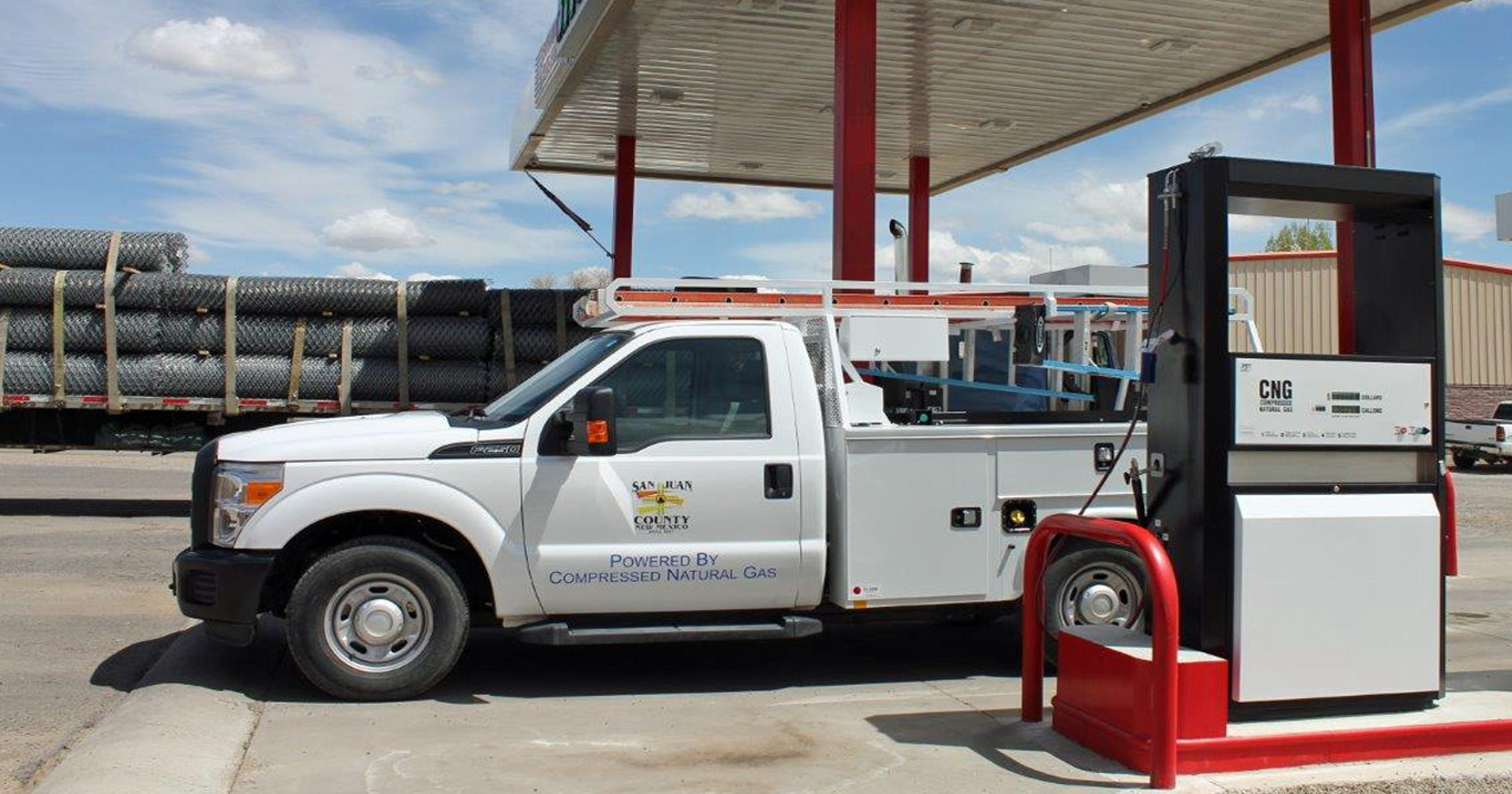 County Adds Natural Gas Vehicle To Fleet