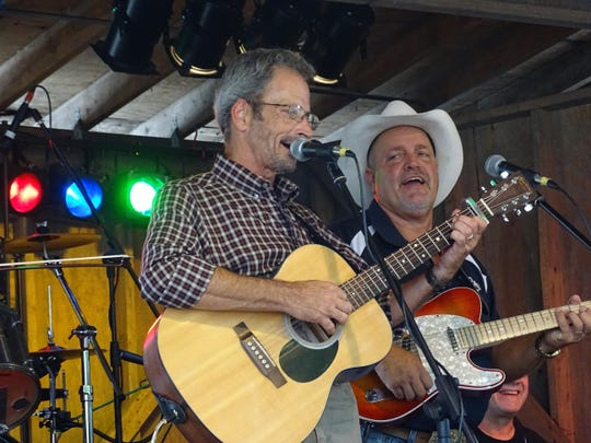 Marty Haggard, left, will perform Thursday at the Strauss Theatre Center.