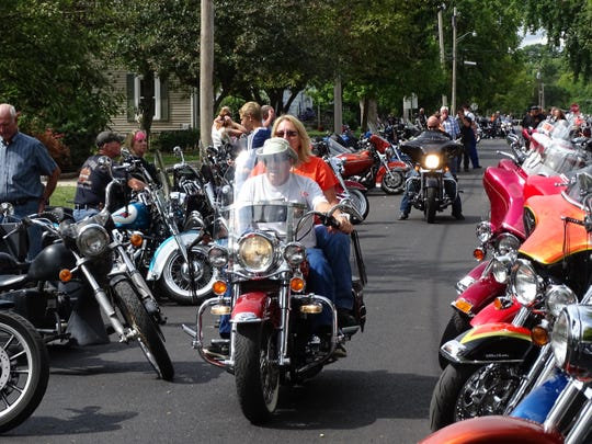 """On Saturday, the Elmore Historical Society and A.B.A.T.E. of Ohio will host the 23rd annual """"Grub 'n Suds"""" motorcycle rally at Depot Park in Elmore."""