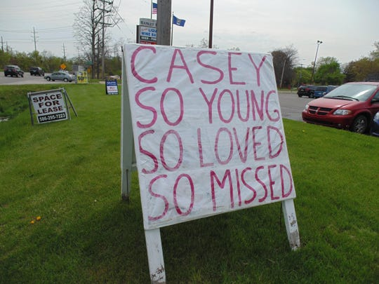 The sign on Novi Road by Donna & Larry's Flowers says it all.