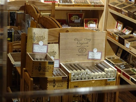 North Coast Cigars keeps its wide selection sealed
