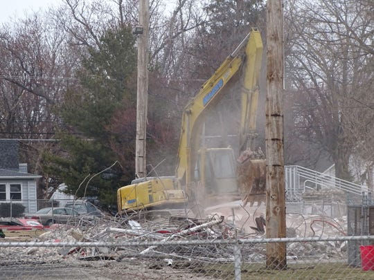 Construction on True-Lay Stadium is set to begin after demolition is completed. The facility is set to open Aug. 1.