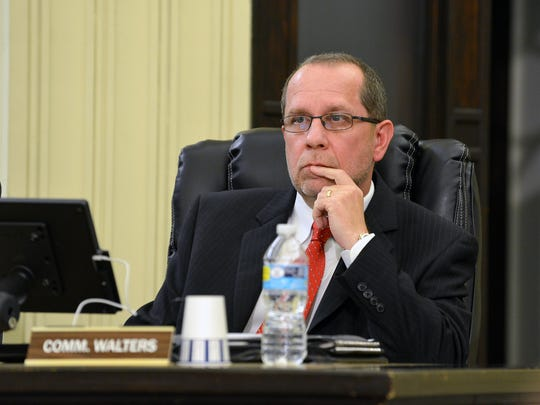 Commissioner Dave Walters is elected Battle Creek mayor Tuesday night. It's the second time he's held the title, first being elected mayor in 2013.