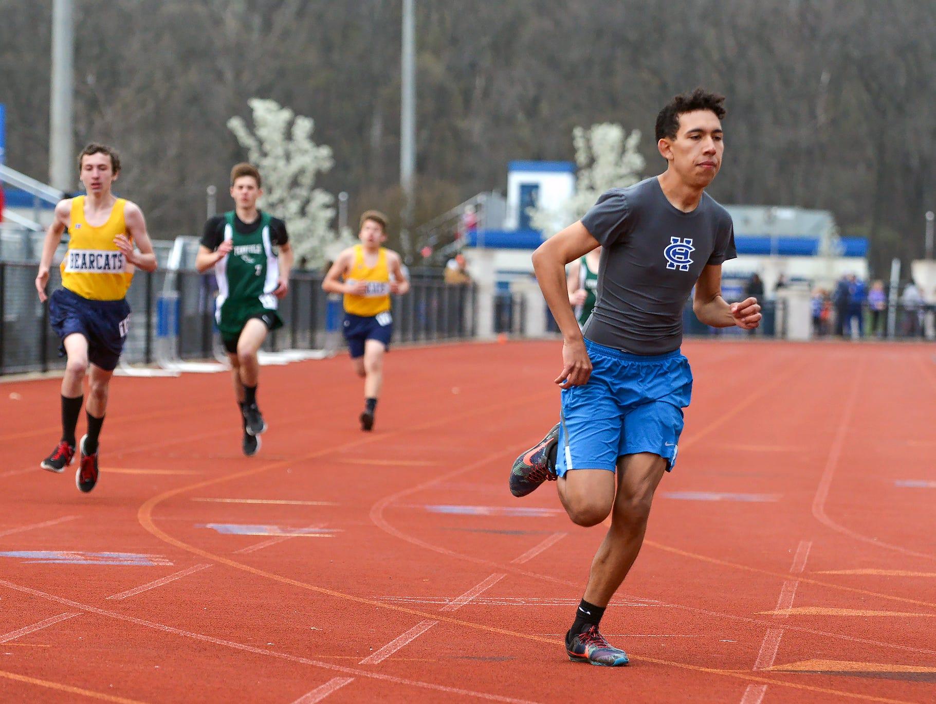 2016 All City Track Meet - 1600 meter run.