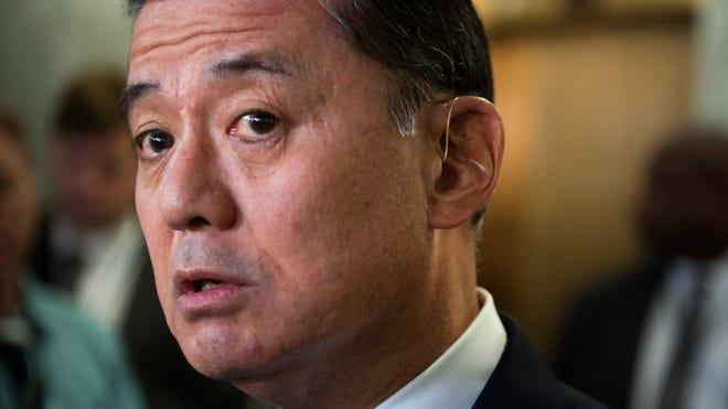 Veterans Affairs Secretary Eric Shinseki tendered his resignation to President Barack Obama on Friday