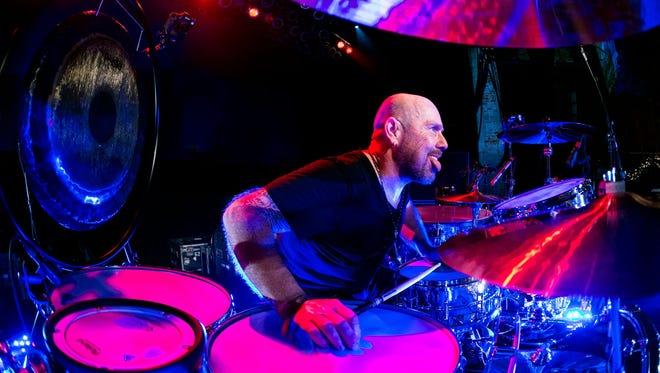 Jason Bonham, son of John, legendary drummer with Led Zeppelin.