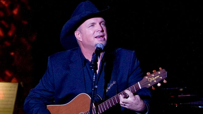Garth Brooks performs the 2014 ASCAP Centennial Awards, benefiting the ASCAP Foundation in New York.