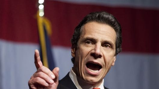 NEW YORK - NOVEMBER 02: New York Governor-elect Andrew Cuomo (Photo by Michael Nagle/Getty Images)