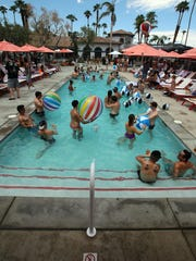 The Hacienda Cantina & Beach Club in Palm Springs is one of three venues being used for this weekend's Splash House party