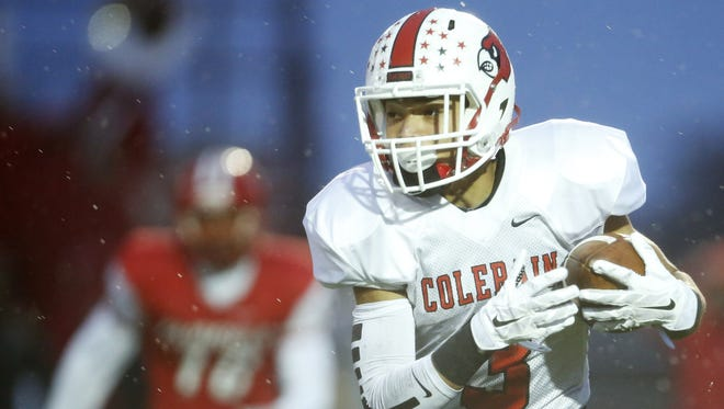 Zach Johnson and his Colerain teammates are ranked first in the Division I OHSAA computer ratings.