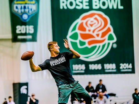 Connor Cook Rose Bowl banner