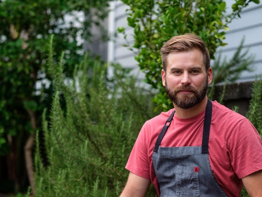 Cory Bahr is a Monroe chef who encourages local eating