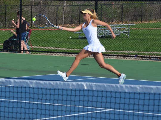 Harper Creek's Amara Place at No. 2 singles during