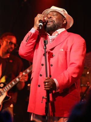 A rather dapper George Clinton performs at The Moon. The funk music icon has called Tallahassee home since the mid-'90s.