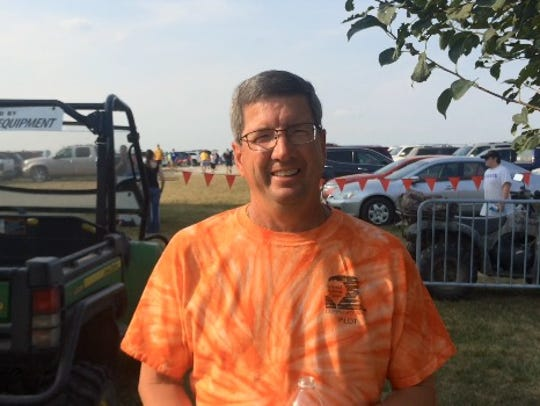 Terry McGonegle, a Norwalk pilot who's been flying