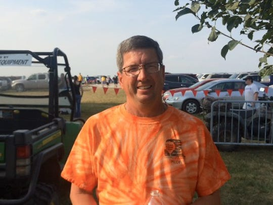 Terry McGonegle, a Norwalk pilot who's been flying for 35 years, enjoyed another National Balloon Classic event last week.