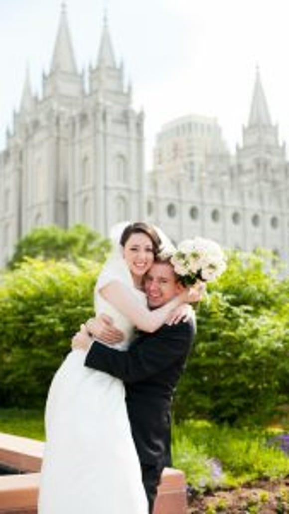 Joe and Kaela were married May 24, 2014—the same week as Joe's graduation! Photo credit: Christine Olson.