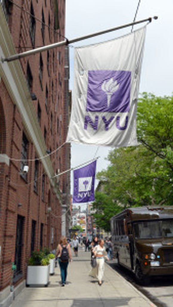 NYU (Photo: Stan Honda/AFP/Getty Images)