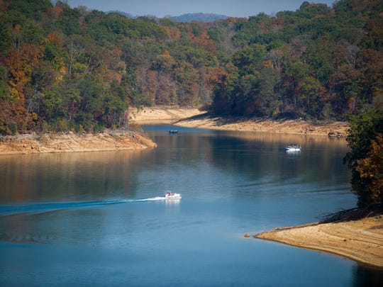 Norris Dam and Reservoir in Norris, Tenn., on Sunday,
