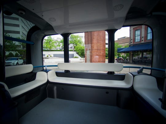 Local Motors will bring their self-driving bus Olli