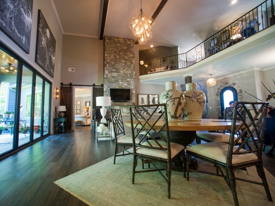 The 2017 Knoxville Symphony League Show House is a 4,510-square-foot home located in a new subdivision on Artisan Row off Westland Drive in Knoxville.