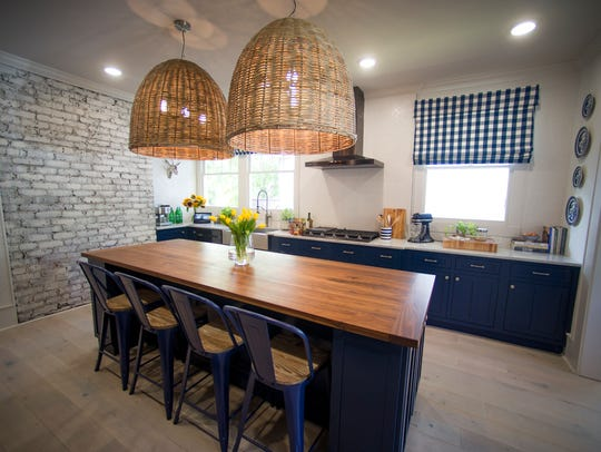 The kitchen in HGTV's Urban Oasis 2017 in the 4th &