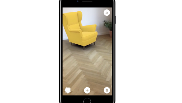 The Ikea AR app lets you imagine furniture in your