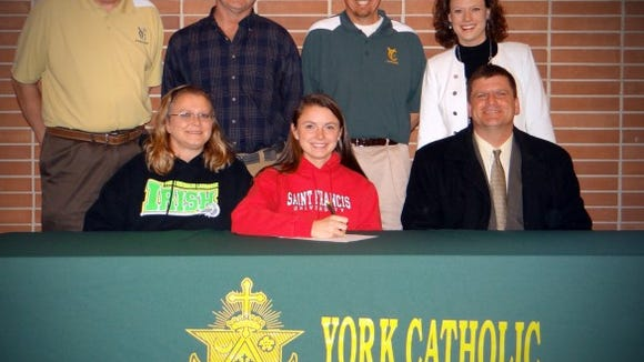 Jessica Mazzur signed to play lacrosse at Saint Francis University