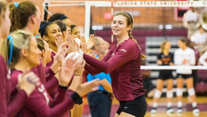 Although her path to Florida State was unconventional, Christina Ambrose has thrived for the Seminoles.