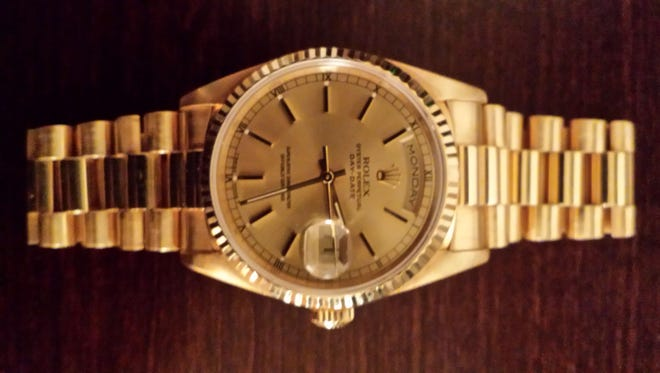 A man in Seattle is willing to trade his Rolex gold watch for four tickets to the Super Bowl.