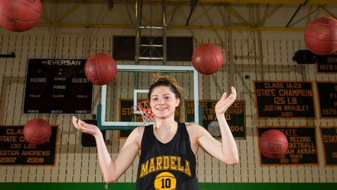 Always a shooting threat, Mardela junior guard Taylor Ross has turned into an all-around monster on the court and a name the know in the Bayside Conference.