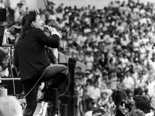Five Live Aid moments that changed careers