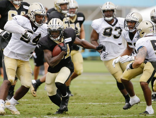 NFL: New Orleans Saints-Training Camp